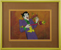 animation art:Production Cel, The Joker Animation Production Cel and Background Original Art(undated). ...