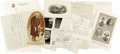 """Autographs:Statesmen, Six Autographs Pertaining to Theodore Roosevelt and Family, asfollows:. Theodore Roosevelt TLS, one page, 7.75"""" x 5"""", B...(Total: 6 Items)"""
