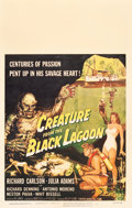"Movie Posters:Horror, Creature from the Black Lagoon (Universal International, 1954).Window Card (14"" X 22"").. ..."