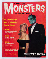 Famous Monsters of Filmland #1 (Warren, 1958) Condition: VG-
