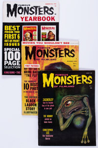 Famous Monsters of Filmland #4-20 Group (Warren, 1959-62) Condition: Average GD.... (Total: 18 Comic Books)
