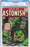 Silver Age (1956-1969):Superhero, Tales to Astonish #27 (Marvel, 1962) CGC FN- 5.5 Off-white to white pages....