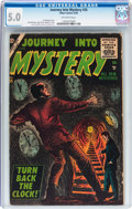 Silver Age (1956-1969):Horror, Journey Into Mystery #35 (Marvel, 1956) CGC VG/FN 5.0 Off-whitepages....