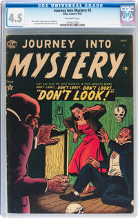 Journey Into Mystery #2 (Marvel, 1952) CGC VG+ 4.5 Off-white pages