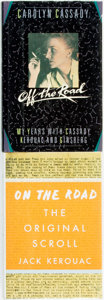 Books:Biography & Memoir, Jack Kerouac. On the Road. The Original Scroll. [New York]:Viking, [2007]. [together with:] Carolyn Cassady. ... (Total: 2Items)