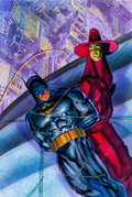 "Original Comic Art:Covers, Brian Stelfreeze Batman: Shadow of the Bat #41 ""Anarky PartTwo: The Anarkist Manifesto"" Cover Painting Original A..."