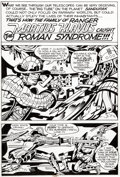 Original Comic Art:Panel Pages, Jack Kirby Captain Victory #8 Page 27 Original Art (PacificComics, 1982)....
