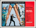 """Movie Posters:James Bond, For Your Eyes Only (United Artists, 1981). International Half Sheet (22"""" X 28""""). James Bond.. ..."""