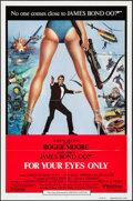 """Movie Posters:James Bond, For Your Eyes Only (United Artists, 1981). International One Sheet (27"""" X 41""""). James Bond.. ..."""