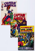 Bronze Age (1970-1979):Superhero, Captain America Group of 47 (Marvel, 1968-76) Condition: AverageVF/NM.... (Total: 47 Comic Books)