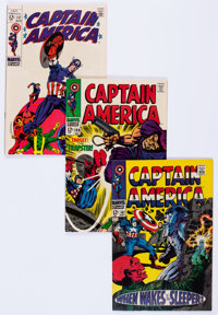 Captain America Group of 47 (Marvel, 1968-76) Condition: Average VF/NM.... (Total: 47 Comic Books)