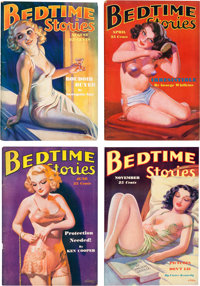 Bedtime Stories Group of Four (Detinuer Publishing Co., 1935-36) Condition: Average VG+.... (Total: 4 Items)
