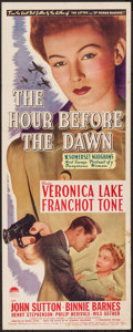 """Movie Posters:War, The Hour Before the Dawn (Paramount, 1944). Insert (14"""" X 36""""). War.. ..."""