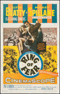 "Movie Posters:Mystery, Ring of Fear (Warner Brothers, 1954). One Sheet (27"" X 41.5"").Mystery.. ..."