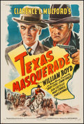 "Movie Posters:Western, Texas Masquerade (United Artists, 1944). One Sheet (27"" X 41"").Western.. ..."