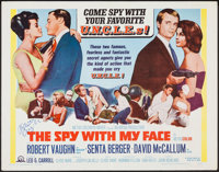 """The Spy with My Face (MGM, 1966). Autographed Half Sheet (22"""" X 28""""). Action"""
