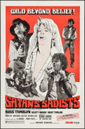 """Movie Posters:Exploitation, Satan's Sadists & Other Lot (Independent International Pictures, 1969). One Sheets (2) (27"""" X 41"""", 28"""" X 42""""). Exploitation.... (Total: 2 Items)"""