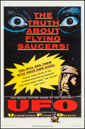 "Movie Posters:Science Fiction, UFO: Unidentified Flying Objects (United Artists, 1956). One Sheet(27"" X 41""). Science Fiction.. ..."