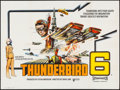 "Movie Posters:Science Fiction, Thunderbird 6 (United Artists, 1968). British Quad (29.75"" X39.75""). Science Fiction.. ..."