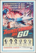 "Movie Posters:Science Fiction, Thunderbirds Are Go (United Artists, 1968). Trimmed One Sheet(26.75"" X 40""). Science Fiction.. ..."