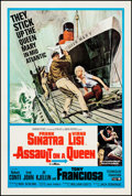 "Movie Posters:Crime, Assault on a Queen (Paramount, 1966). One Sheet (27"" X 41"").Crime.. ..."