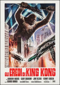 "Movie Posters:Science Fiction, Destroy All Monsters (CIA, R-1977). Italian 4-Foglio (54.5"" X77.5""). Science Fiction.. ..."