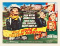"Movie Posters:Western, She Wore a Yellow Ribbon (RKO, 1949). Half Sheet (22"" X 28"") Style B.. ..."