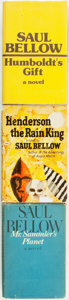 Books:Literature 1900-up, Saul Bellow. Group of Three First Editions. New York: The VikingPress, 1959 - 1975. . ... (Total: 3 Items)