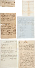 Military & Patriotic:Civil War, Archive of Slavery Documents.... (Total: 7 )