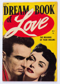 Golden Age (1938-1955):Romance, Dream Book of Love #1 (Magazine Enterprises, 1954) Condition: VF-....