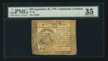Colonial Notes:Continental Congress Issues, Continental Currency September 26, 1778 $50 PMG Choice Very Fine35.. ...