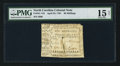 Colonial Notes:North Carolina, North Carolina April 23, 1761 20s PMG Choice Fine 15 Net.. ...