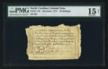 Colonial Notes:North Carolina, North Carolina December, 1771 30s PMG Choice Fine 15 Net.. ...