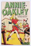 Golden Age (1938-1955):Western, Annie Oakley #1 (Timely/Atlas, 1948) Condition: FN/VF....