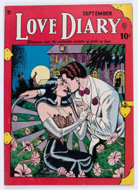 Love Diary and Love Scandals #1 (Quality, 1949) Condition: VG/FN