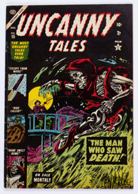 Uncanny Tales #15 (Atlas, 1953) Condition: VG/FN