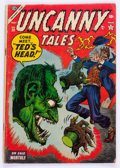Golden Age (1938-1955):Horror, Uncanny Tales #20 (Atlas, 1954) Condition: GD/VG....