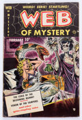 Golden Age (1938-1955):Horror, Web of Mystery #1 (Ace, 1951) Condition: VG-....