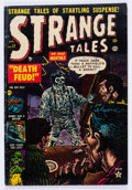 Golden Age (1938-1955):Horror, Strange Tales #17 (Atlas, 1953) Condition: VG/FN....