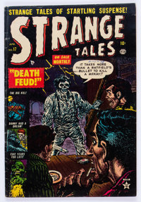 Strange Tales #17 (Atlas, 1953) Condition: VG/FN
