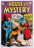 Golden Age (1938-1955):Horror, House of Mystery #4 (DC, 1952) Condition: VG....