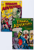 Golden Age (1938-1955):Science Fiction, Strange Adventures #10 and 14 Group (DC, 1951).... (Total: 2 ComicBooks)