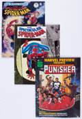 Magazines:Miscellaneous, Marvel Magazines Group of 5 (Marvel, 1968-76) Condition: AverageVF.... (Total: 5 Comic Books)