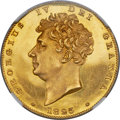 Great Britain, Great Britain: George IV gold Proof Pattern 1/2 Sovereign 1825 PR63 Ultra Cameo NGC,...