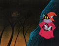 Animation Art:Production Cel, He-Man and the Masters of the Universe Orko Production CelSetup, Animation Drawing, and Production Folder Group (Film...(Total: 7 Items)