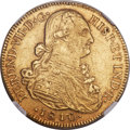 Colombia, Colombia: Ferdinand VII gold 8 Escudos 1810 NR-JF MS61 NGC,...