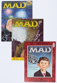 MAD Group of 8 (EC, 1956-59) Condition: Average FN.... (Total: 8 Comic Books)