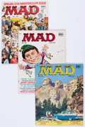 Magazines:Mad, MAD Group of 13 (EC, 1956-59) Condition: Average VG.... (Total: 13Items)