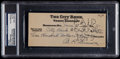 Baseball Collectibles:Others, Al Simmons Signed Check. ...