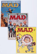 Magazines:Mad, MAD #51-75 Group (EC, 1959-63) Condition: Average FN except as noted.... (Total: 25 Box Lots)